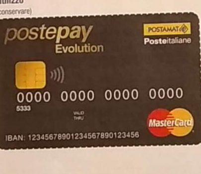 Postepay Evolution, la carta prepagata con iban